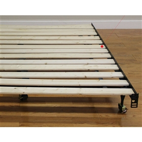 twin size heavy duty wooden bed slats made in usa - Mattress Without Box Spring