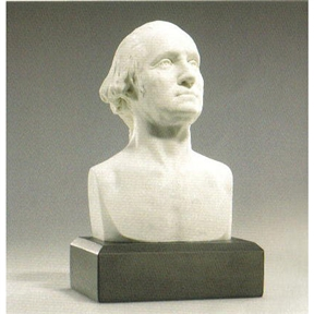 6 Inch High George Washington Bust Statue Sculpture In