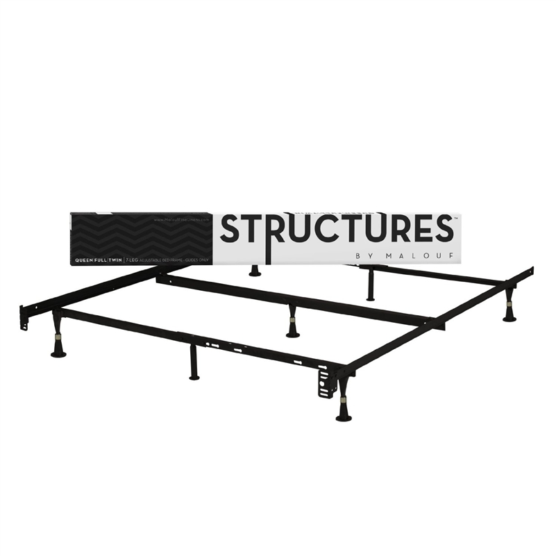 Structure Heavy Duty 7-Leg Metal Bed Frame - Fits Sizes Twin, Full, & Queen at Sears.com