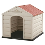 Sturdy Outdoor Waterproof Polypropylene Dog House for Small Dogs
