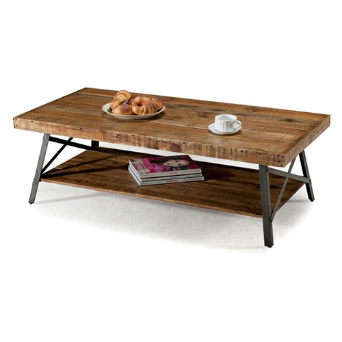 Industrial Chic Coffee Table: Industrial Chic Modern Classic Reclaimed Wood And Metal