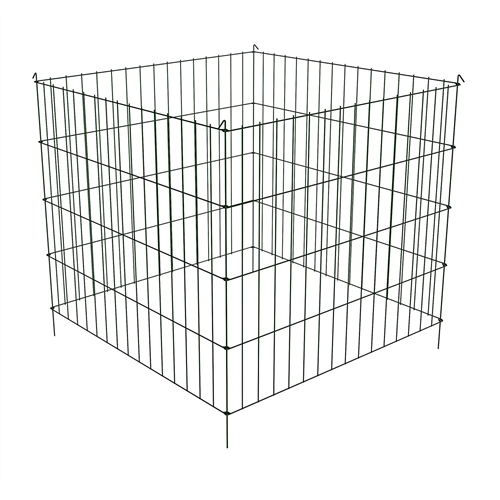 Steel Metal Wire 3 Ft Compost Bin In Green Make Your Own