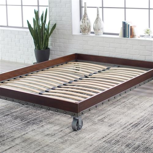Twin Size Heavy Duty Industrial Platform Bed Frame On